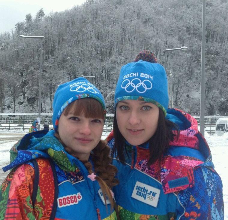 Фото из личного архива.  Слева – Екатерина Коровайная, справа – Инна Карпенко.