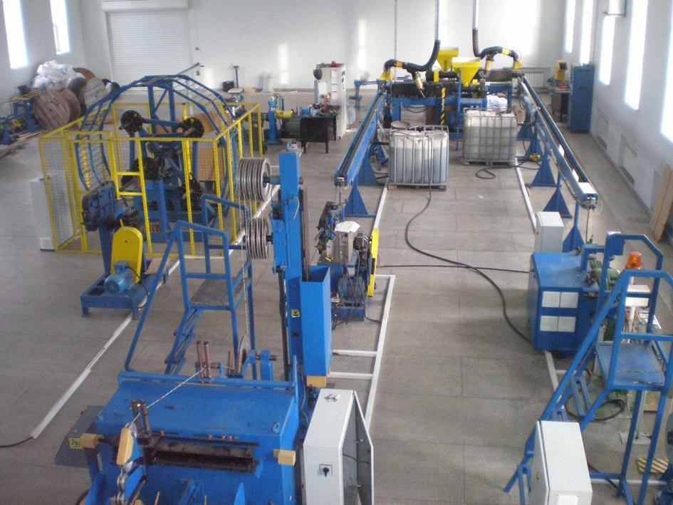 Так выглядит производственный цех завода внутри