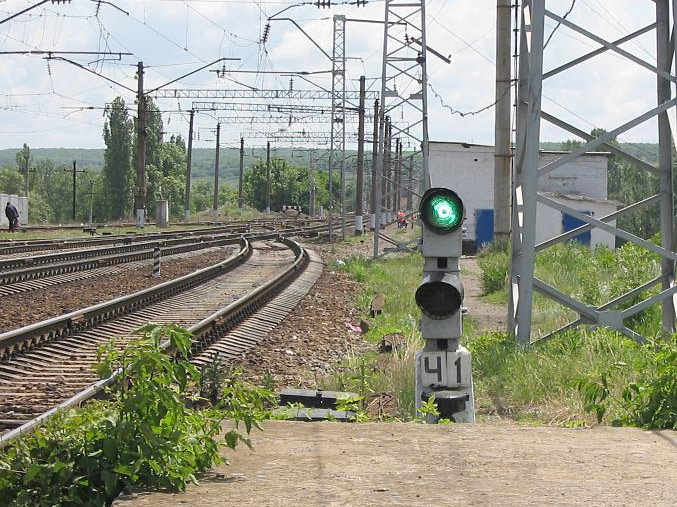 железной дороге Сосыка – Ейск