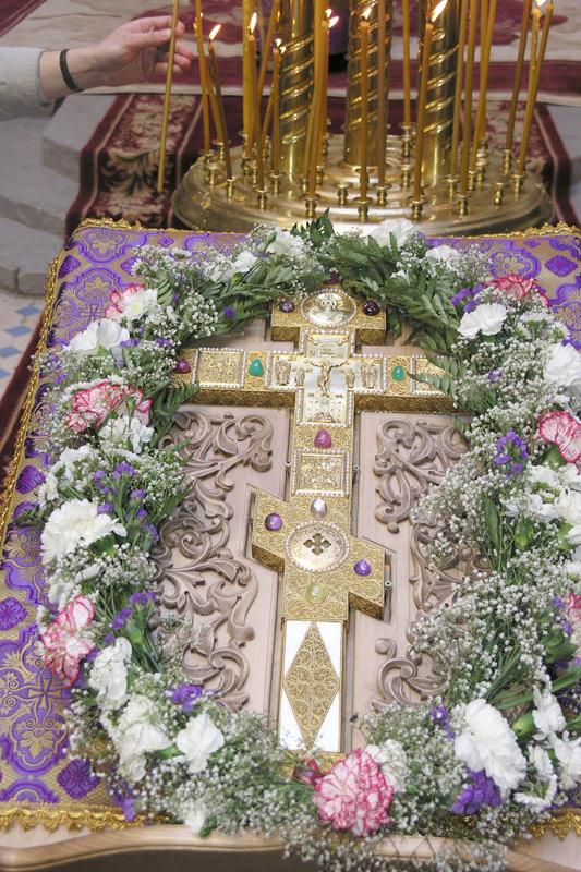 Крест с мощами привезут врайон