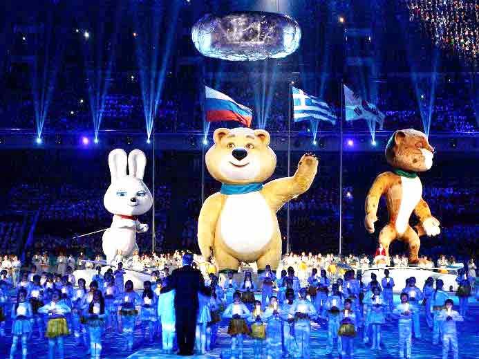 Триумф Российских олимпийцев