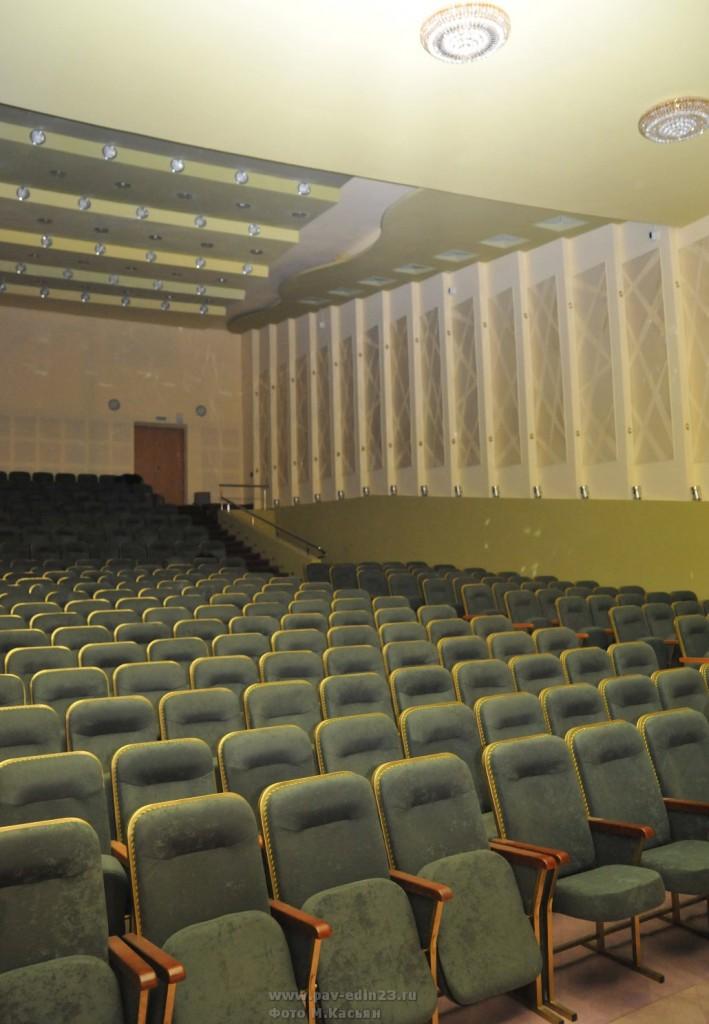 Скоро концертный зал социально-культурного центра распахнет двери для зрителей
