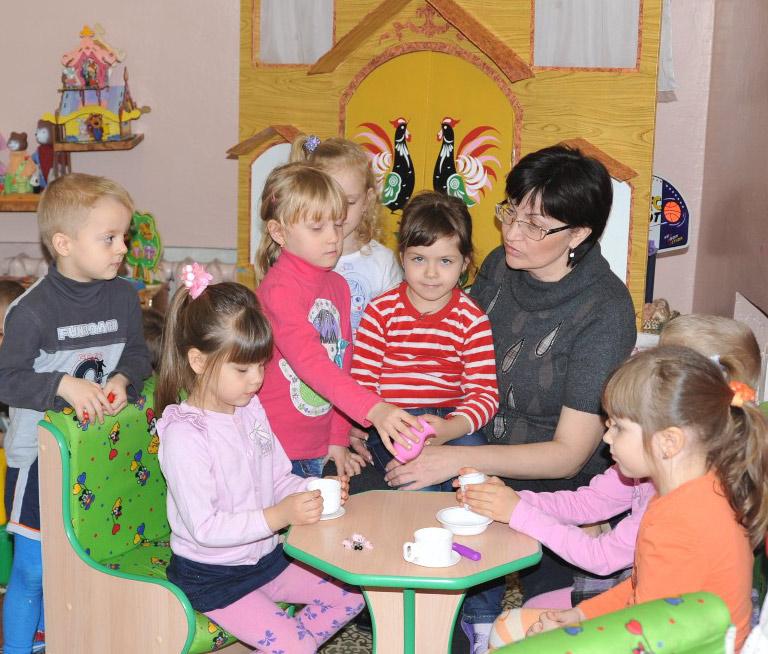 Ольга Анатольевна Матвиенко с воспитанниками
