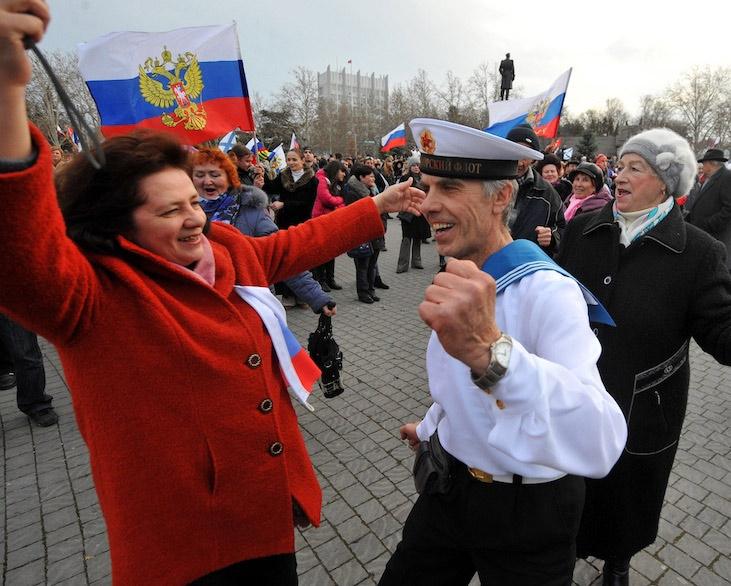 Крым возвращается в Россию
