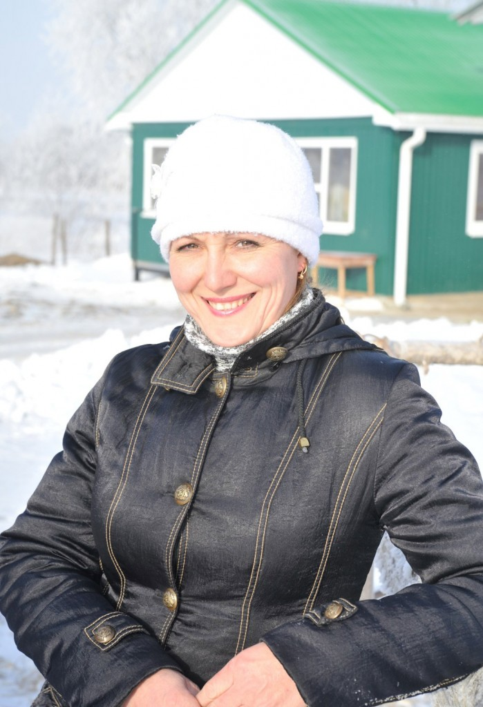 Нина Владимировна КРАСНОВА, техник- осеменатор третьей МТФ ФГУП им. Калинина,  добилась лучшего результата в районе
