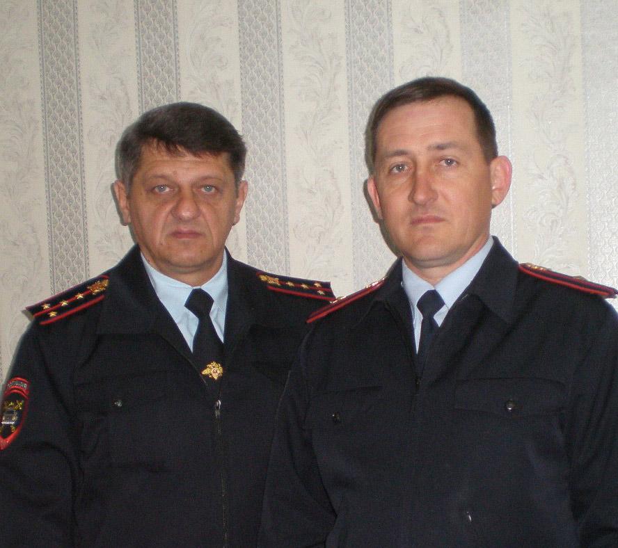 Слева направо: К.В. Клименко и С.В. Вирченко