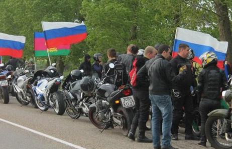 автопробег с участием мотоциклистов (байкеров) и автомобилистов