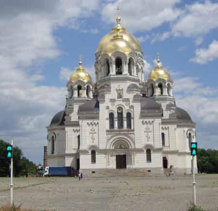 БулавинаВознесенский собор в Новочеркасске