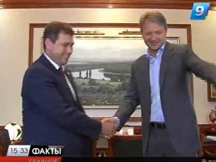 Перспективы развития Павловского района обсудил губернатор с главой муниципалитета