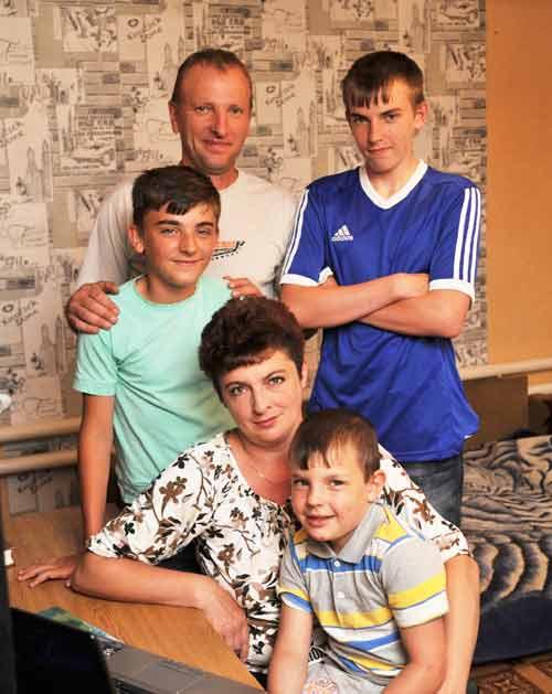 Семья Бяковых