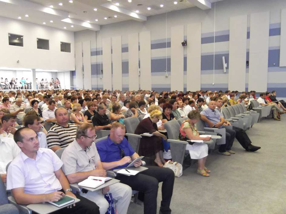 Конференц-зал во время семинара были заполнены до отказа. В первых рядах  павловчане