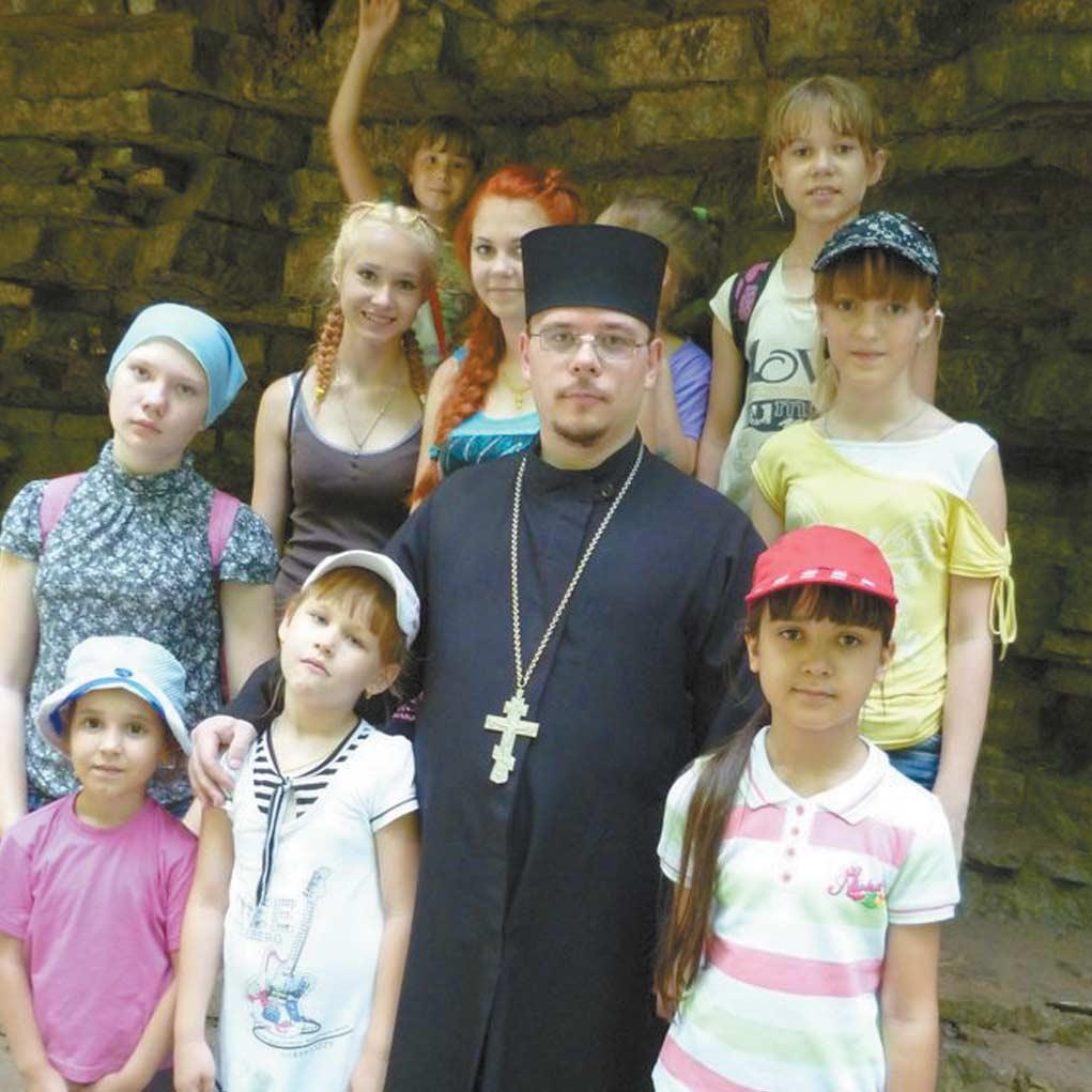 В Свято-Михайловско-Афонскую  пустынь