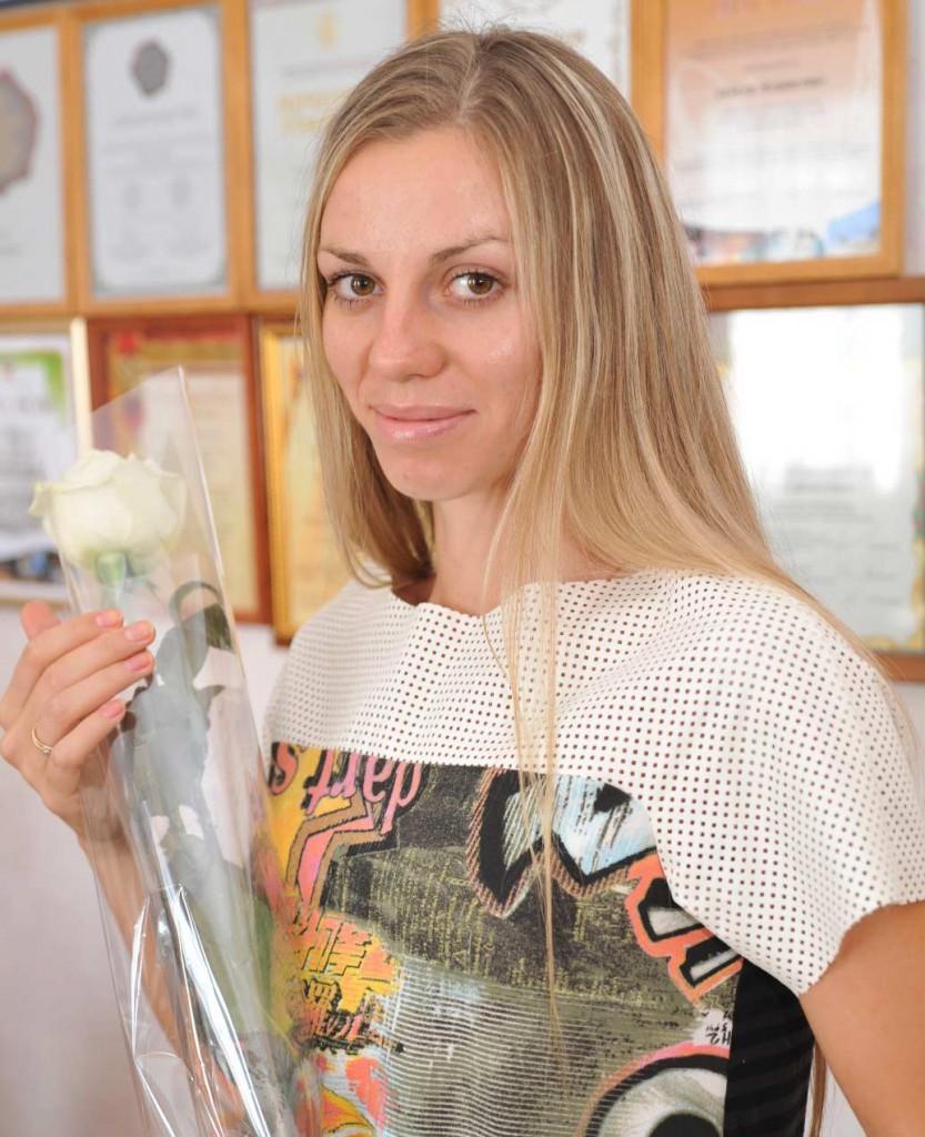 Новый рекорд Марины Гришиной