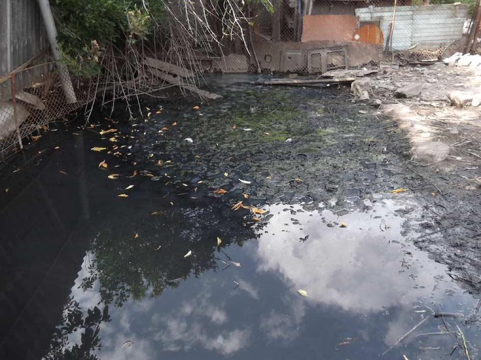 Уровень грунтовых вод в районе улицы Куйбышева очень высок