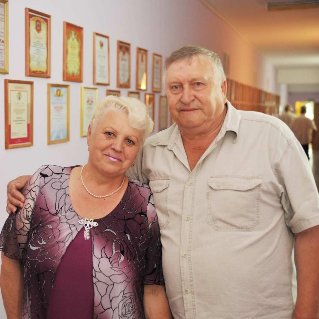 Василий Федотович и Валентина Павловна Мирошник