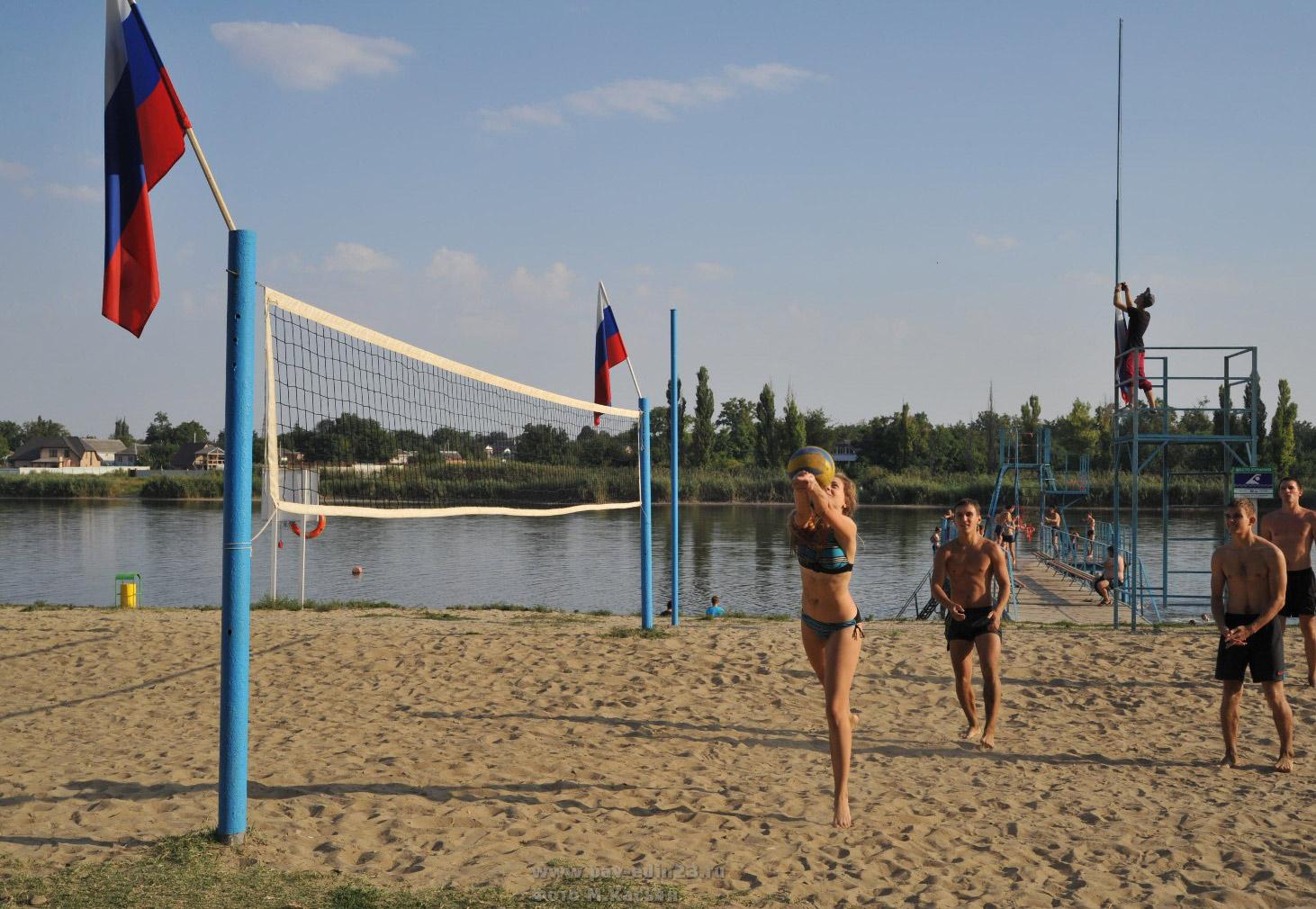 Пляж в старолеушковской фото