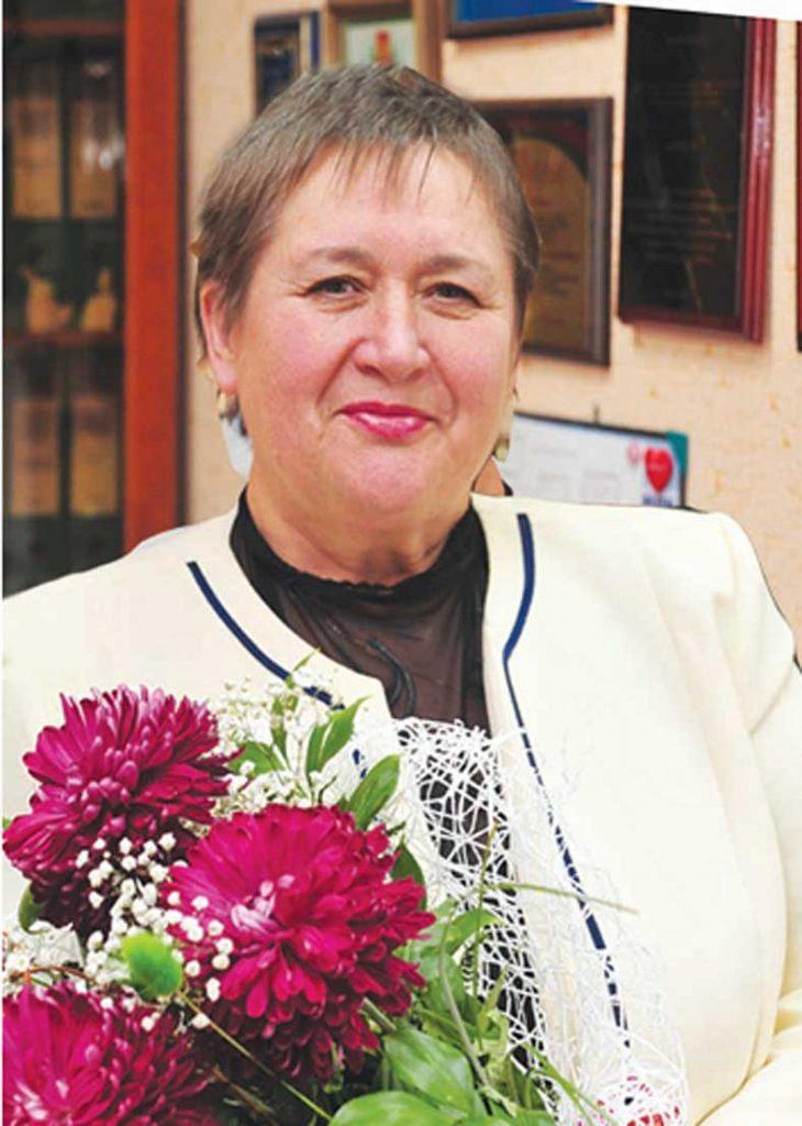 заслуженный учитель Кубани Татьяна Ивановна КУРАСОВА
