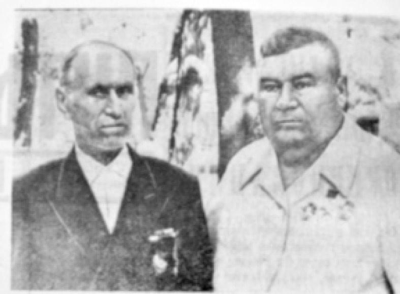 Г.П. Казуб (слева) и А.Ф. Пернакий